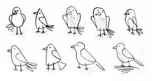http://www.amymahon.com/free-twitter-bird-drawings/